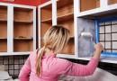 Frisk dit køkken op med en omgang maling