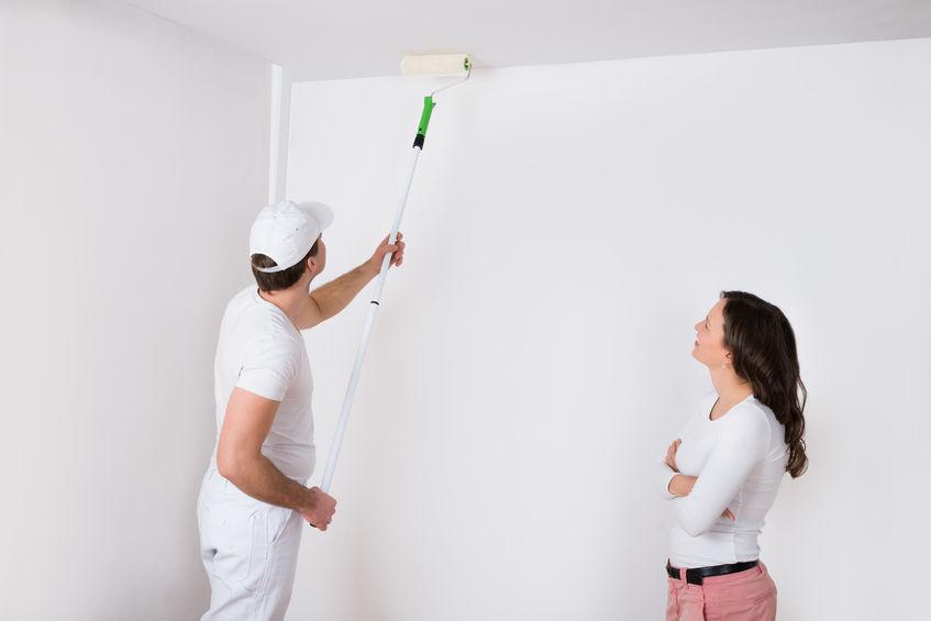 Dejlig Loftmaling - Hvorfor ikke bare bruge en vægmaling ? - Maling-Guiden.dk PF-05