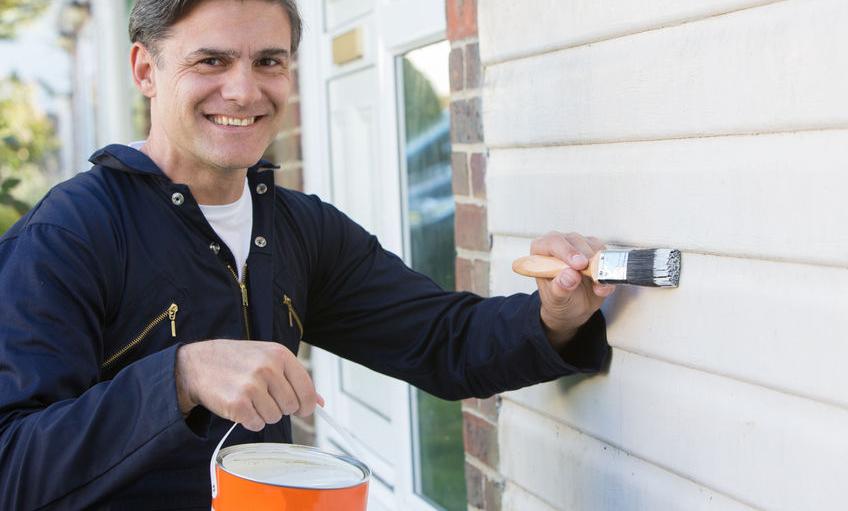 Alle nye Sådan maler du dine gamle vinduer, og giver dem nyt liv ! - Maling LC68