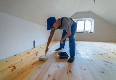 Frisk dit gamle trægulv op med maling