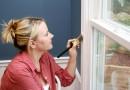 Sådan maler du dine gamle vinduer, og giver dem nyt liv !
